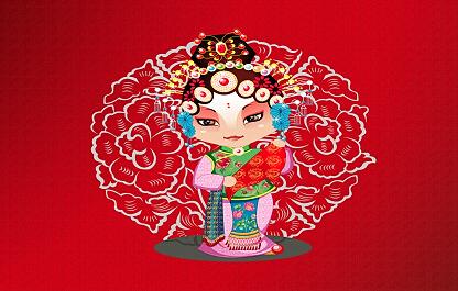 中国戏曲卡通