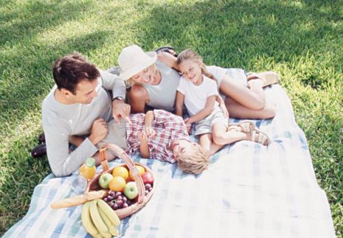 寄宿家庭野餐